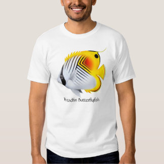 Threadfin Butterflyfish T-Shirt