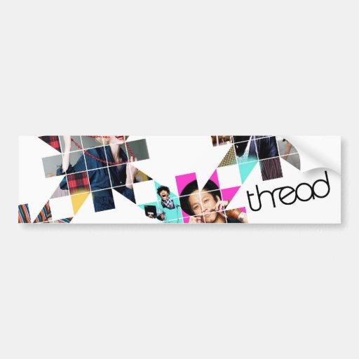 ThreadShow Etiqueta De Parachoque