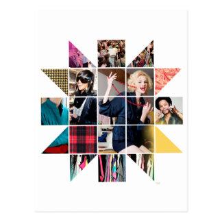 ThreadShow Star Bust Postcard