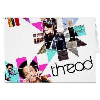ThreadShow Tarjeta De Felicitación
