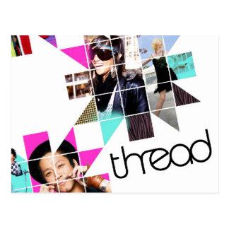 ThreadShow Tarjeta Postal