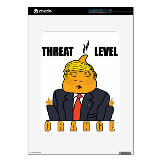 Threat Level Orange Skins For The iPad