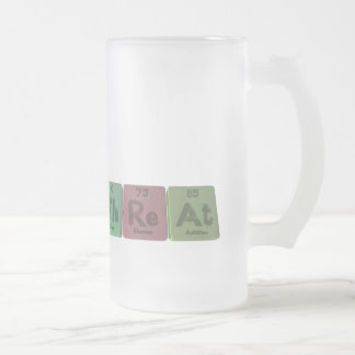 Threat-Th-Re-At-Thorium-Rhenium-Astatine.png Frosted Glass Beer Mug