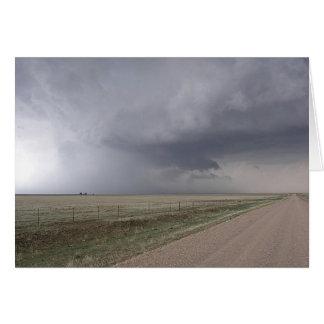 Threatening Storm Card