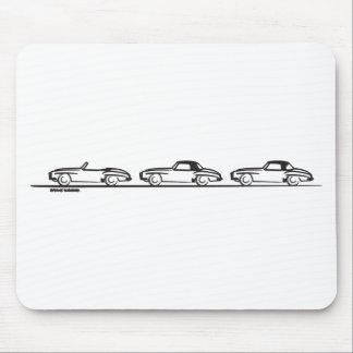 Three 190SLs Mouse Pad