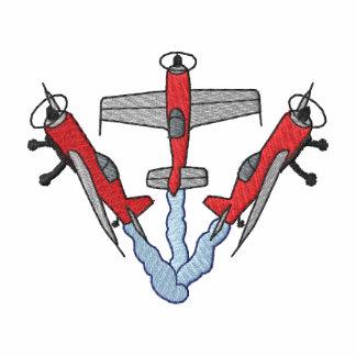Three Aerobatics Embroidered Polo Shirt