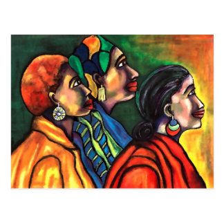 Three African American Women Postcard