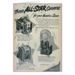 Three All Star Cameras Cards