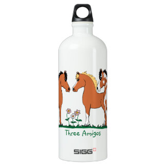 Three Amigos Horse Lovers Liberty Bottle