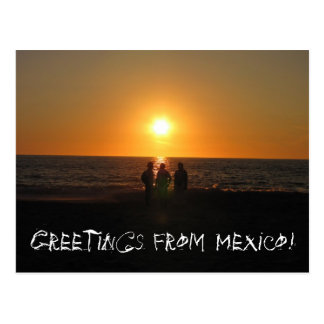 Three Amigos; Mexico Souvenir Post Cards