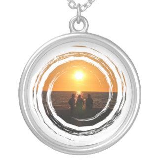 Three Amigos Silver Plated Necklace