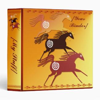 Three Ancient Horses binder_15_front.v4 Vinyl Binders