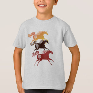 Three Ancient Horses Shirts
