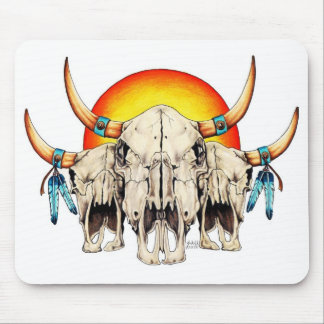 Three Ancient Spirit Guides Mouse Pad