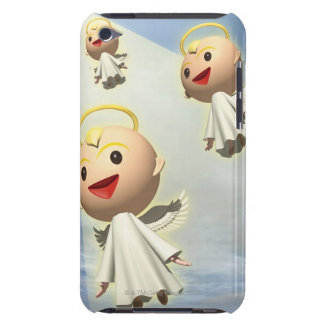 Three Angels, CG, 3D, Illustration, Low Angle iPod Touch Cover