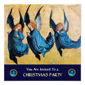 THREE ANGELS IN BLUE ,Sapphire Card