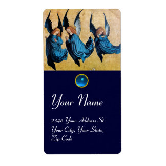 THREE ANGELS IN BLUE, Sapphire Label