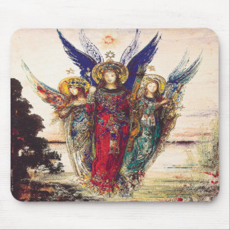Three Angels Mousepad