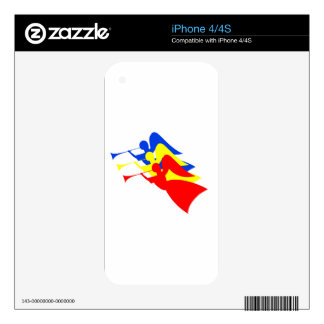 Three Angels Skins For iPhone 4