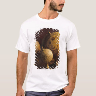 Three antique globes T-Shirt