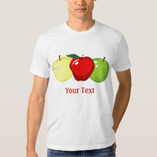 Three Apples Mens Tee Shirt