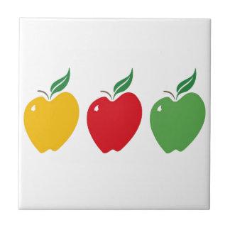 Three Apples Tile