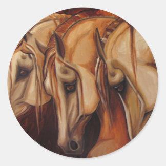 Three Arabians Sticker
