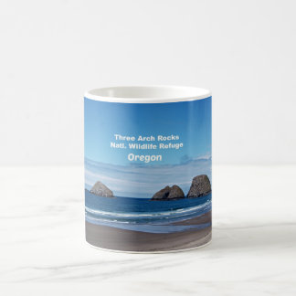 Three Arch Rocks, Natl. Wildlife Refuge Coffee Mug