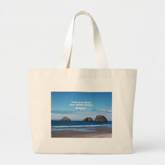 Three Arch Rocks, Natl. Wildlife Refuge Large Tote Bag