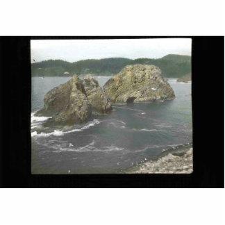 Three Arch Rocks Photo Sculptures