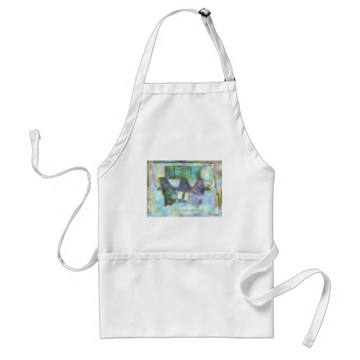 Three Autoharps, Piano and Guitar Adult Cooking Apron