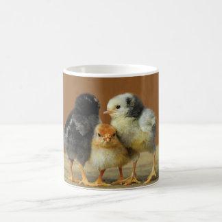 Three Baby Chicks Coffee Mug