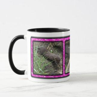 Three Baby Mink Mug
