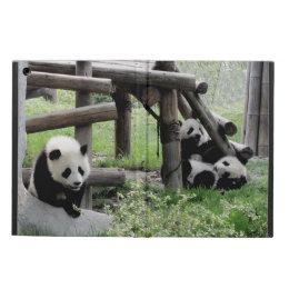 Three Baby Pandas iPad Air Cover