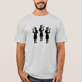 Three bagpipe player T-Shirt