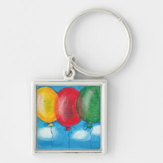 Three balloons keychain (premium)