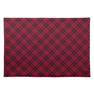 Burgundy placemats burgundy place mats for Small square placemats