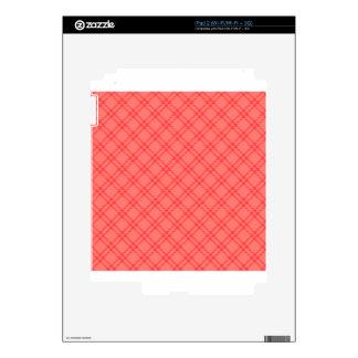 Three Bands Small Diamond - Red1 iPad 2 Decal