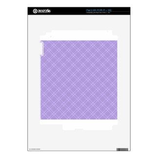 Three Bands Small Diamond - Violet2 iPad 2 Skin