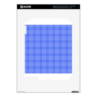 Three Bands Small Square - Blue1 Decal For iPad 3