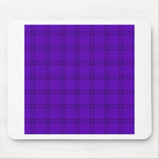 Three Bands Small Square - Dark Violet1 Mouse Pad