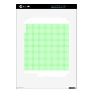 Three Bands Small Square - Green1 iPad 2 Decals