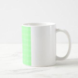 Three Bands Small Square - Green2 Coffee Mug