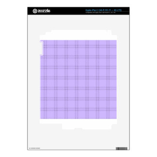 Three Bands Small Square - Violet1 Skins For iPad 3