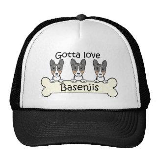 Three Basenjis Trucker Hat