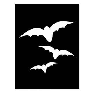 Three Bats Postcard