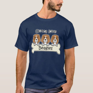 Three Beagles T-Shirt
