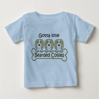 Three Bearded Collies T Shirt