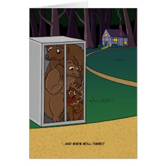 Three Bears Card