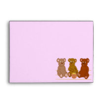 Three Bears Envelope